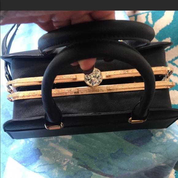 Handbags - CLASSY ELEGANT HARD CASE CONVERTIBLE  BAG